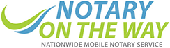Notary On The Way Logo